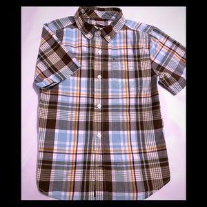 Gymboree short sleeve button down shirt.